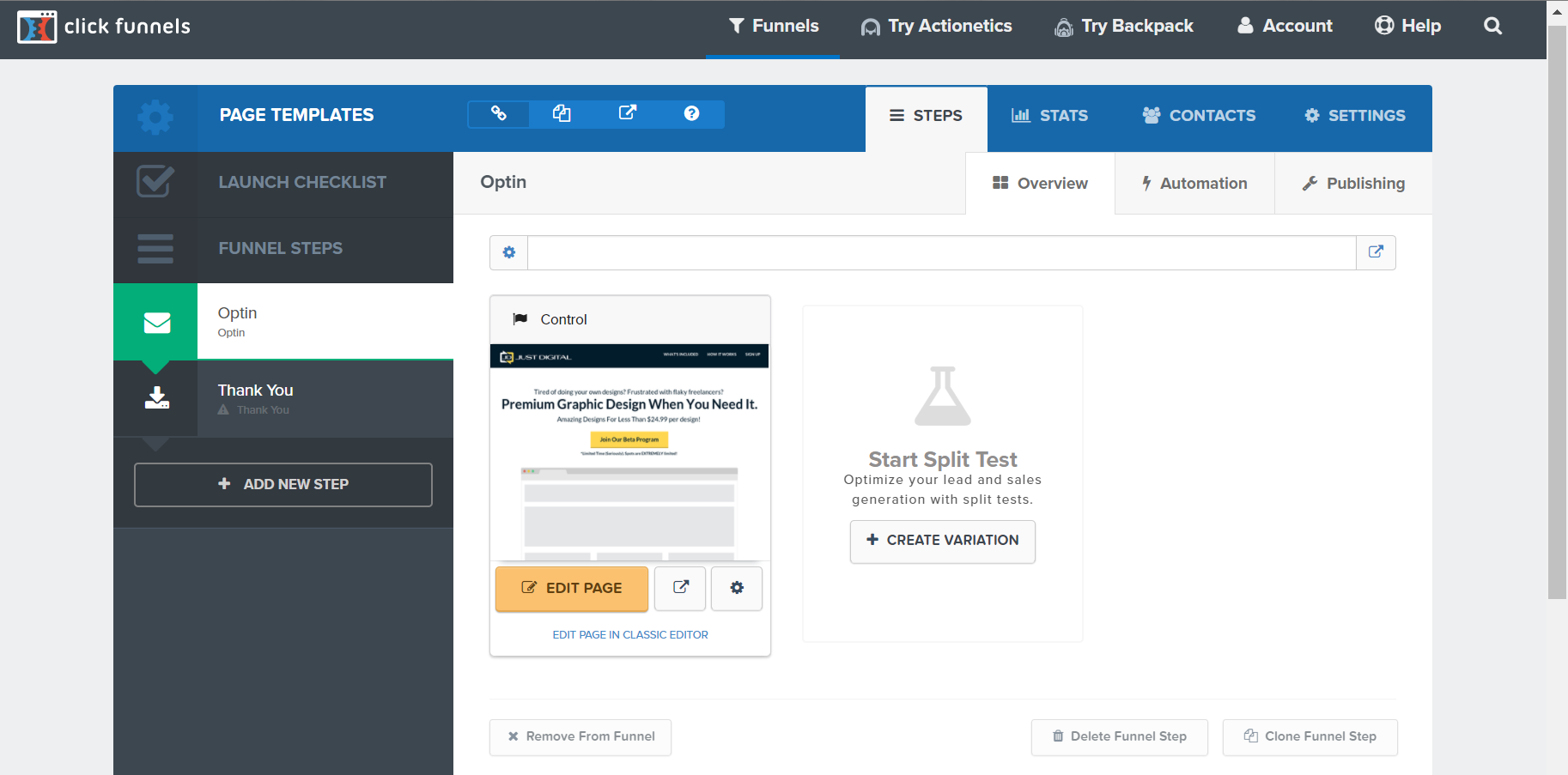 How To Create Affilaite Between Infusionsoft And Clickfunnels