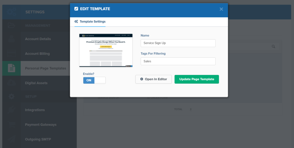 clickfunnels editor