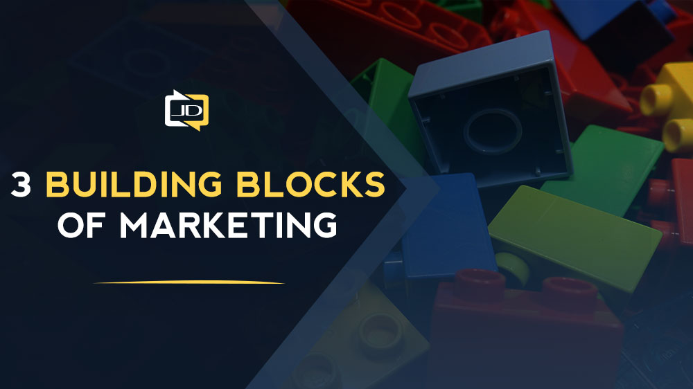 the 3 building blocks of marketing
