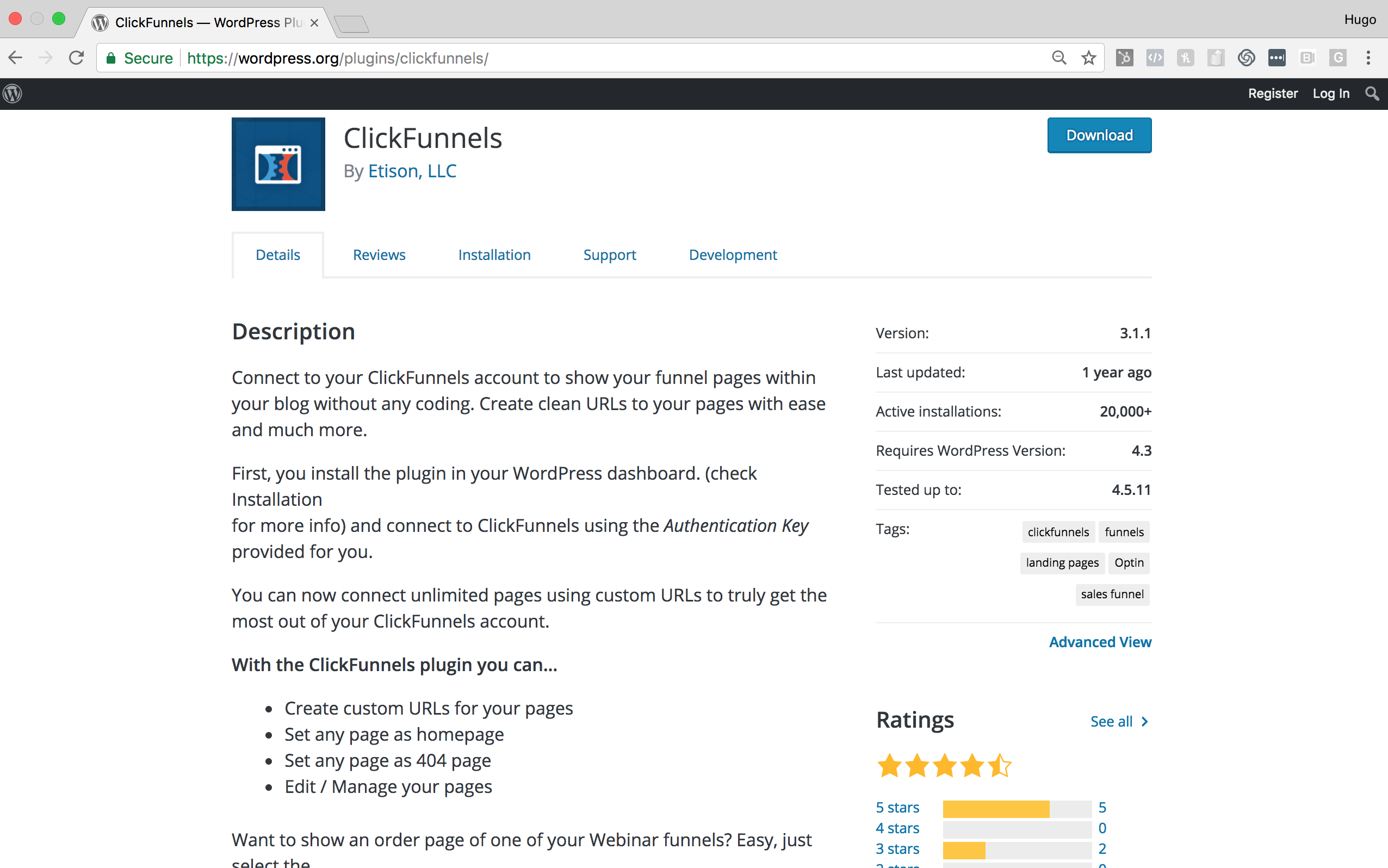 Clickfunnels WordPress Plugin - Clickfunnels Review