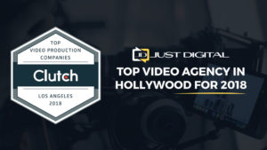 Just Digital is named a top video production agency in 2018 by Clutch report