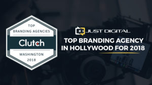 Just Digital Inc. Receives Clutch Leader Award in Branding and Web Design!