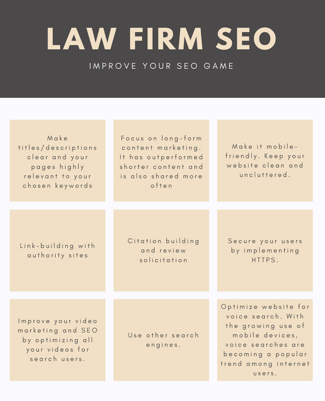 law firm marketing strategies seo