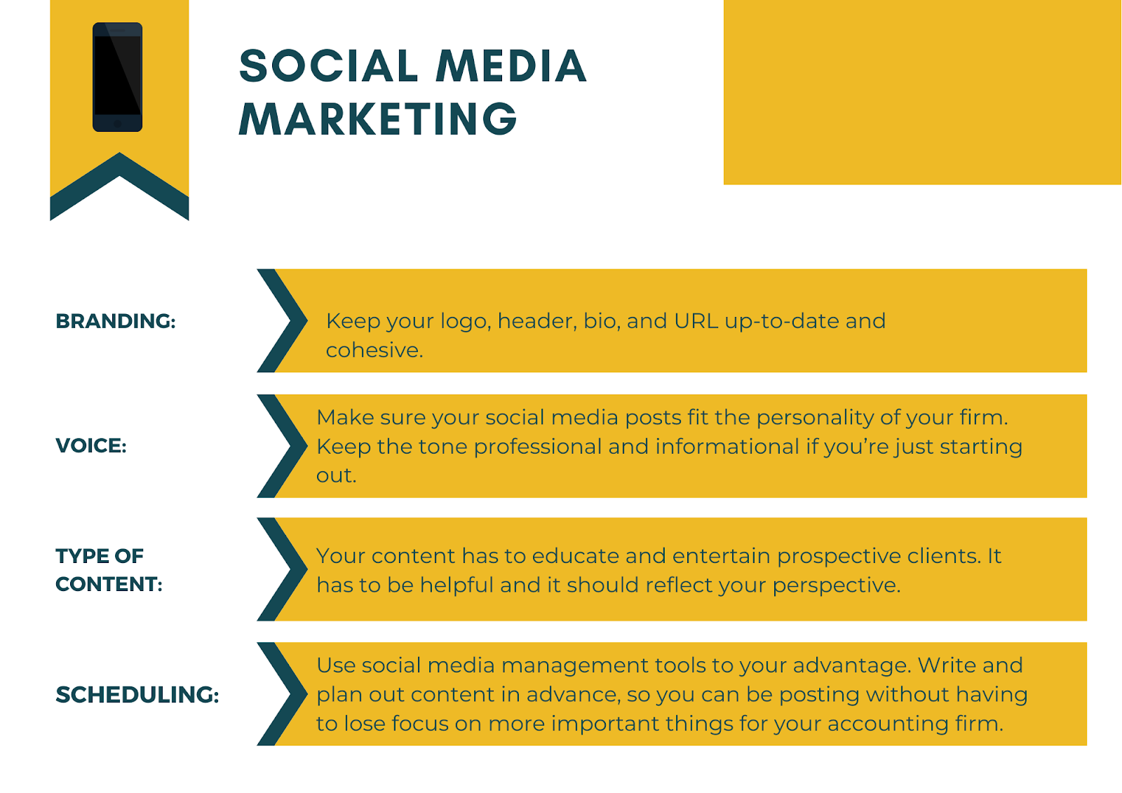 social media marketing for accountants