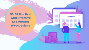 30 Best and Effective Ecommerce Web Designs