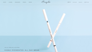 esquido ecommerce website design