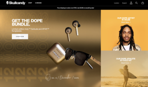 skullcandy helback ceramics ecommerce website design