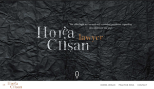 Horea Crisan Lawyer