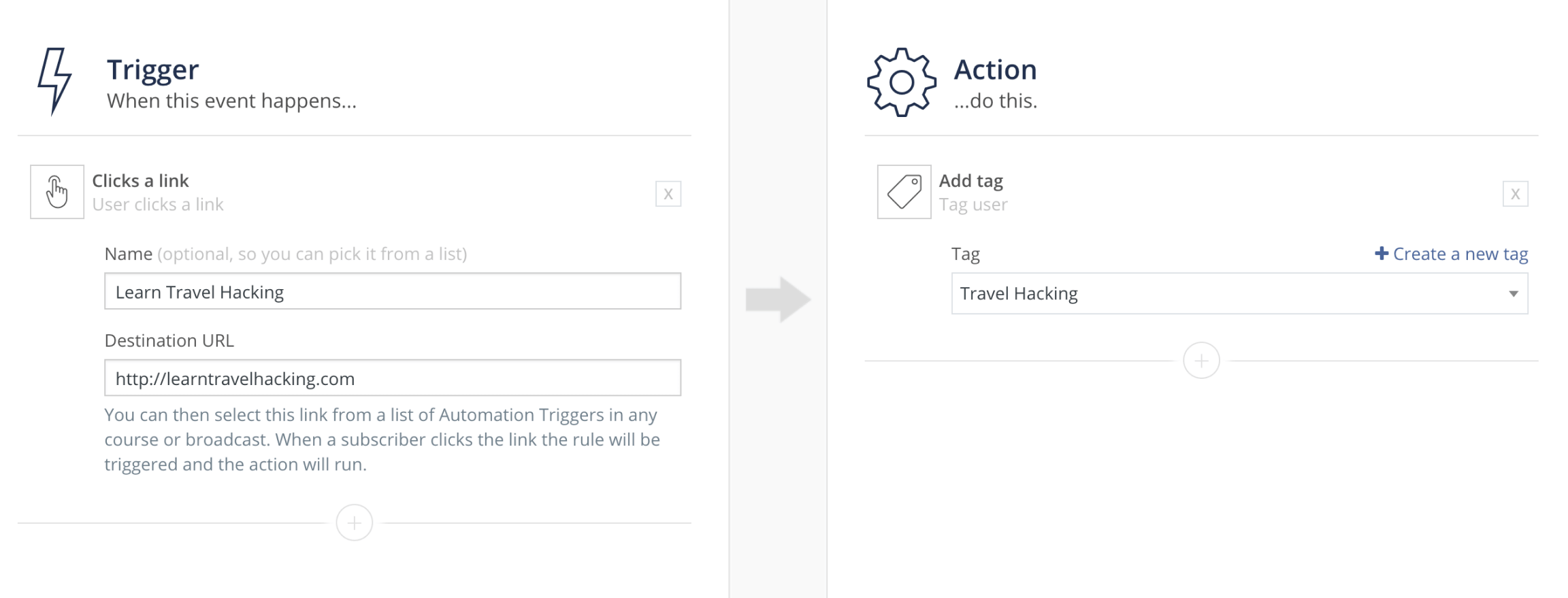 ConvertKit Automation Features Settings Screenshot